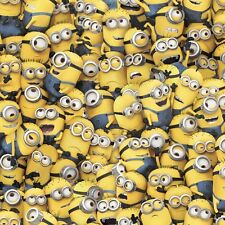 Despicable Me 1 in a Minion By the yard cotton print Kevin Stuart Bob Packed