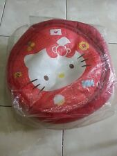Hello Kitty round red bean bag chair