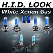 H7 H7 HB4 501 55w White Xenon HID Look High Low Fog Beam Headlight Bulb Pack