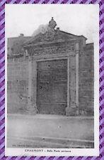 Carte Postale - CHAUMONT - belle porte ancienne