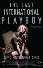 THE LAST INTERNATIONAL PLAYBOY  DVD DRAMMATICO