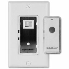 SkylinkHome Smart Home Automation Dimmer Wall Switch w/Snap-On Remote (WR-318)