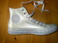 CONVERSE ALL STAR PEARL COLOUR HIGH TOP TRAINING SHOES LADIES SIZE US 6 NEW