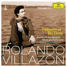 Treasures Of Belcanto von Rolando Villazon (2015), Neu OVP, CD