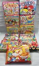 Kracie 11pcs DIY making kit popin cookin 2016 autumn collections Japanese candy