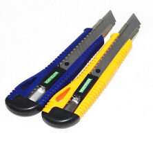 New Plastic Cutter Utility Knife Snap Off Retractable Blade Knife Tool