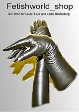 Sehr weiche Lange Domina Leder Handschuhe Grösse XL