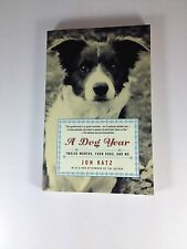 The Dog Year Book By Jon Katz Paperback Mint  2003
