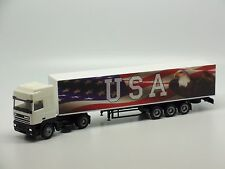 DAF Truck with USA Trailer AMA 1/87 HO Scale