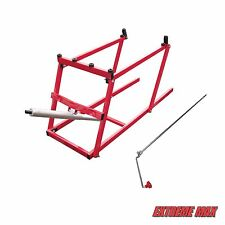 Extreme Max Snow Pro Snowmobile Lift Stand Hoist 1000 LB Capacity Shop