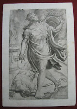 Kupferstich n. Francesco Salviati: Kain & Abel 1545/Engraving Cain's Fratrice