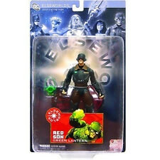 DC Direct_ELSEWORLDS Collection Series 3_RED SON GREEN LANTERN action figure_MIP