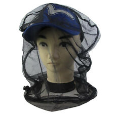 Black Mosquito Bug Insect Bee Mesh Heads Net Protect Hat Fishing Camping Hunting