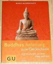 NEU OVP - Marie Mannschatz BUDDHAS ANLEITUNG zum Glücklichsein - Fünf Weisheiten