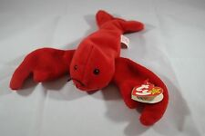 Rare Ty Beanie Baby Red PINCHERS Style 4026 The Lobster Pvc Deutschland 1993