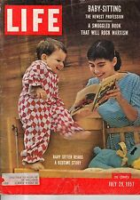1957 Life July 29 - Bull fighting; hot dog eating; Mouth to mouth resuscitacion