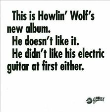 HOWLIN' WOLF - The Howlin' Wolf Album [digipak] (CD, 2011, Get On Down Records)