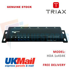 Triax HDA 1×4 4K HDMI Distribution Amplifier / Splitter with Super Slim Design