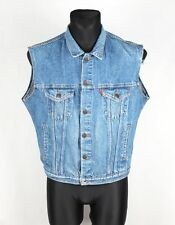 LEVIS Vintage Jeans 70506 02 17 Men Denim Vest Size M