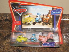 Disney Pixar Cars Supercharged Movie Moments Luigi Guido & Tractor VHTF Rare