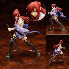Fairy Tail Erza Elza Scarlet Battle ver. Kimono 1/7 Scale Sexy Figur No Box