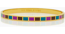 Kate Spade HIt Your Stride Bangle Bracelet NWT Idiom Collection with Pouch