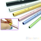 6pcs C Curve Metal Shaping Rod Sticks Acrylic Tips Nail Art Manicure Tool BC2U