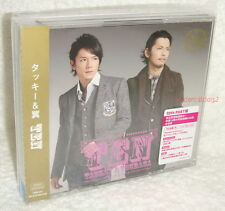Tackey & Tsubasa TEN [10th PAST Ver.] Taiwan Ltd 2-CD+DVD