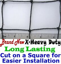"2"" X-HEAVY KNOTTED NET NETTING 25' x 25' AVIARY POULTRY--View our eBay STORE!!!"