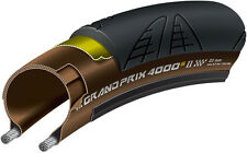 CONTINENTAL GP 4000 S II 700X23C FOLDING TYRE BROWN