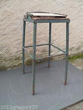 Tabouret Industriel a dossier basculant Meuble Métier Atelier Usine 1930/50s