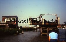 Reedham Swing Bridge, River Yare, Norfolk (3 Amateur 35mm Colour Slides 1979)