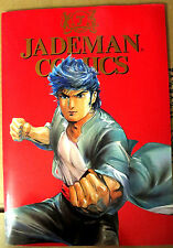 Jademan Comics Promotional Folder Oriental Heroes Blood Sword Buddha's Palm etc.