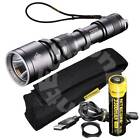 New NITECORE MH25 Cree LED 960 Lumens USB Rechargeable Flashlight with holster