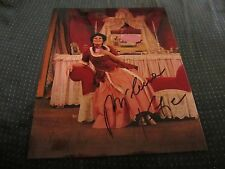 Milena Kitic Opera Singer Autographed 8X10 Photo The Barber of Seville Rosina
