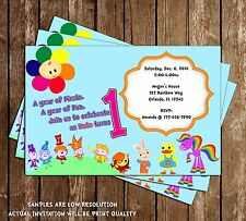 Baby First TV - Birthday Invitations - 15 Printed W/envelopes