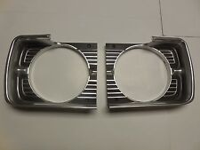 Mopar 68 Dodge Dart Headlight Bezels 1968  NEW