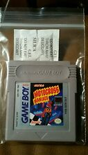 MOTOCROSS MANIACS nintendo gameboy tested and works