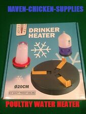 Drinker Heater Pad Stops chicken/poultry water freezing anti freeze plate  UK
