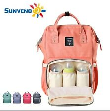 Sunveno Water Resistant Baby Diaper Bag Backpack Changing Bag Travel Bag