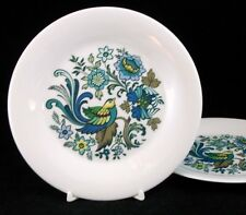 Royal Doulton EVERGLADES 2 Bread & Butter Plates TC1083 GREAT CONDITION