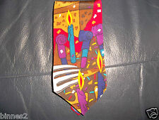 THE BEATLES NECK TIE BIRTHDAY 100% SILK  APPLE CORPS BRILLIANT CONDITION  FAB !