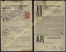 1920 ar Interior registrado Brockley Londres con undelvered cachet a Lewisham