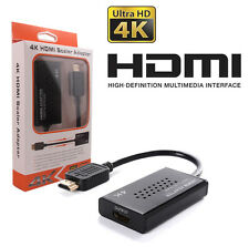 HDMI Scaler Adapter Cable Converter 1080P To 4K Ultra HD PC Projector TV #5150