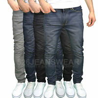 Soulstar Mens Designer Slim Fit Jeans, Available in 4 Colours. BNWT