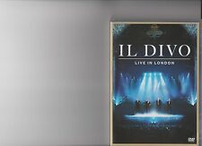 IL DIVO LIVE IN LONDON DVD MUSIC CONCERT