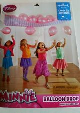 New Minnie Mouse Balloon Drop Birthday Party Decorations Games Pink Balloons