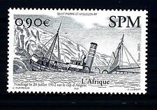 """ST. PIERRE E MIQUELON - 2003 - Battello """"L'Africa"""" naufragato il 20 luglio 1912"""