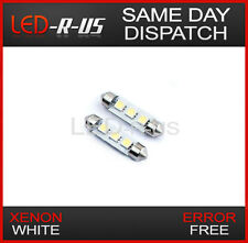 2x 42mm C10W White 3 SMD LED Interior Light Bulbs Ford Fiesta Mk7 7 Galaxy Kuga