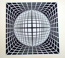 VASARELY s/n serigraph  TER UR * Publisher's COA  *   Out of print  *